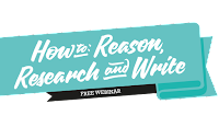 How to Reason, Research and Write webinar