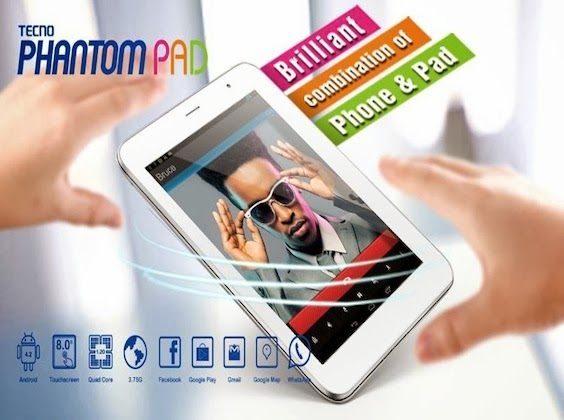 Tecno Phantom Pad N9