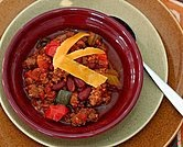 Crockpot Chili with Spicy Sausage