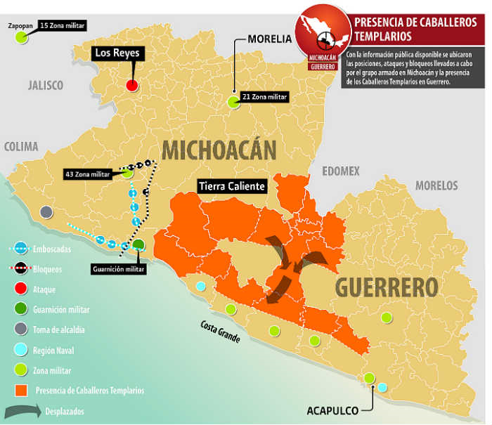 Borderland Beat: The war in Michoacan: A brief chronology