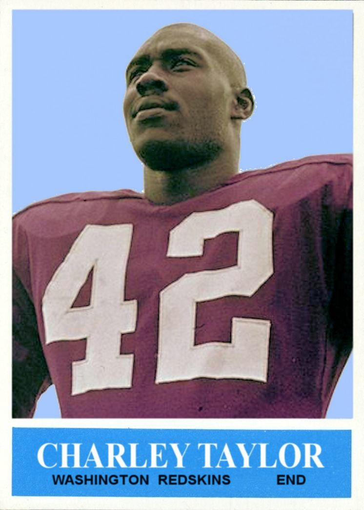 info for 0f22f 0844c Cards That Never Were: 1964 Philadelphia Charley Taylor