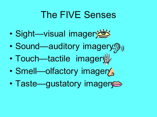 what is auditory imagery in poetry