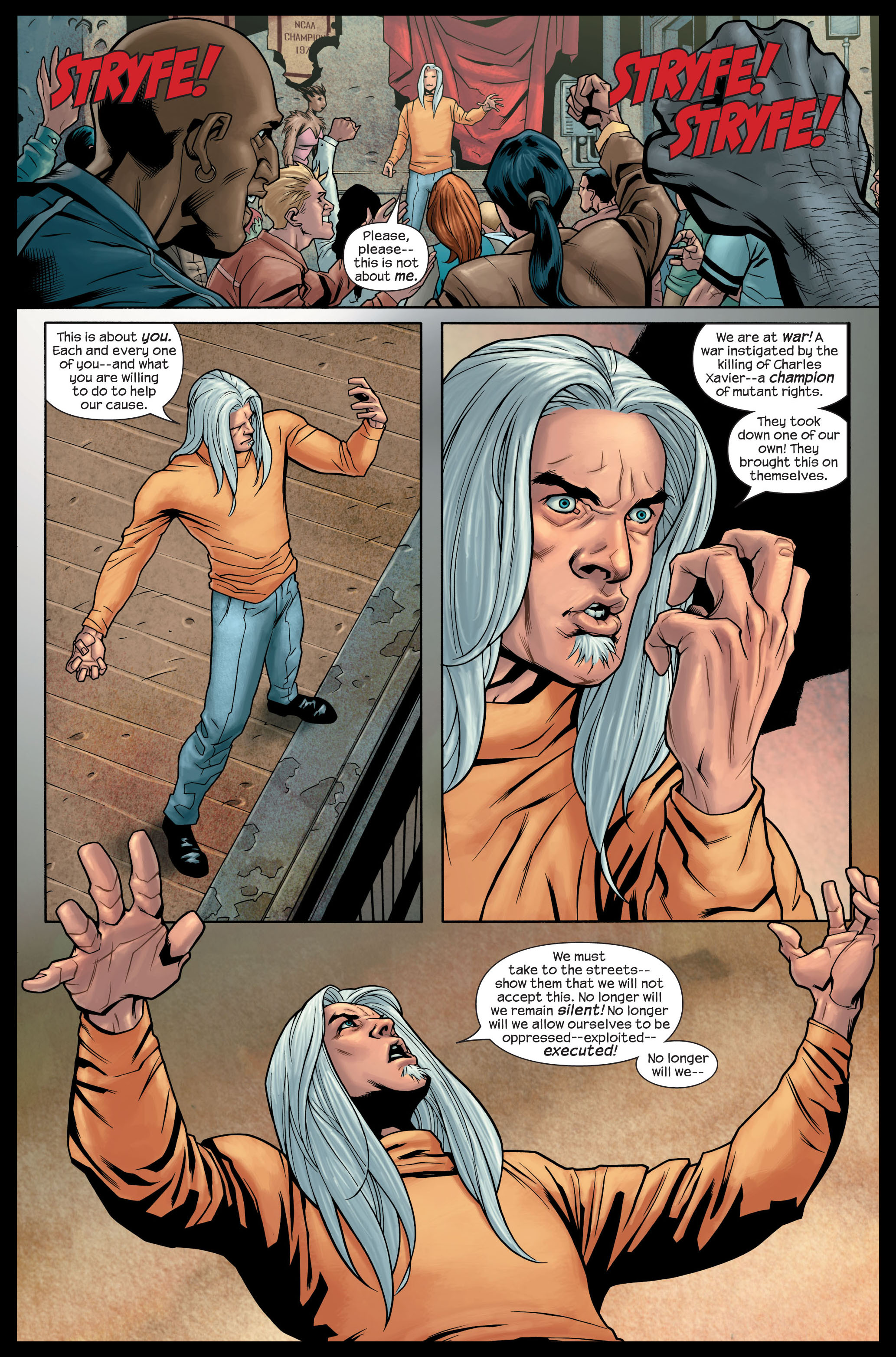 Read online Ultimate X-Men comic -  Issue #84 - 6