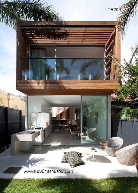 แบบบ้านสวย  บ้าน2 ชั้น TR209