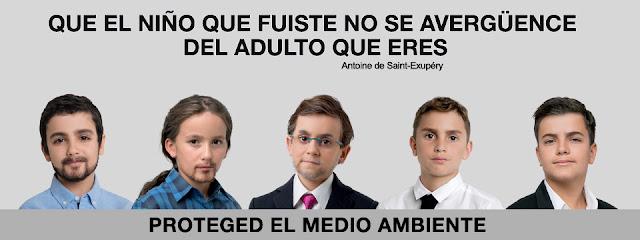 Greenpeace politicos españoles
