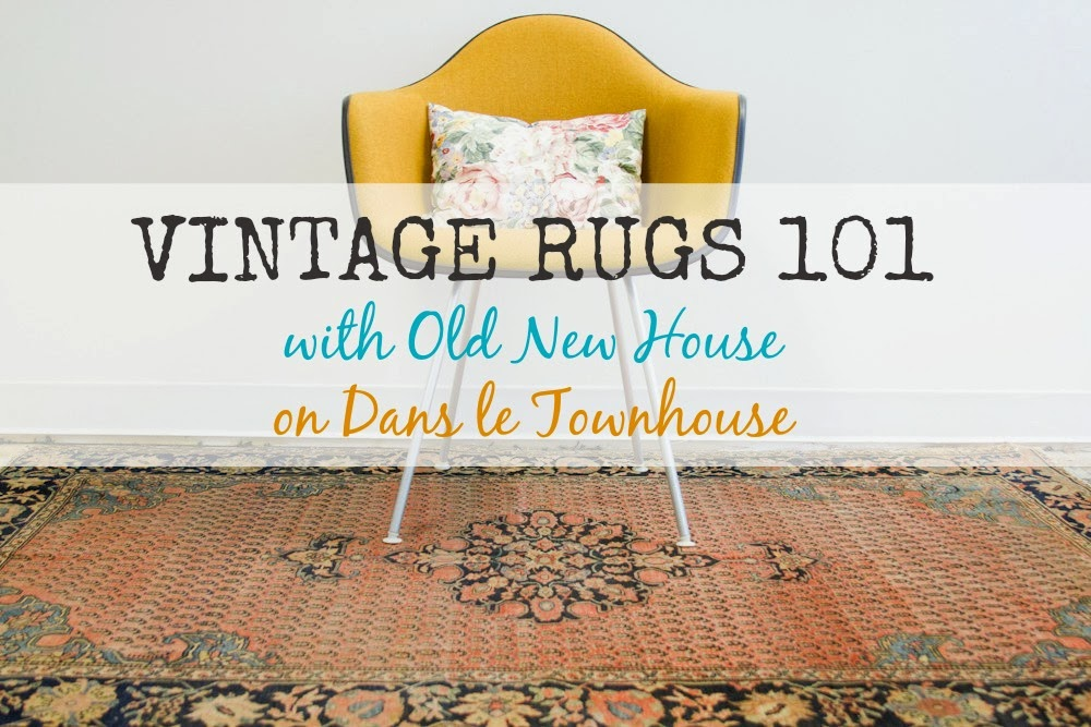 Vintage Rugs 101 With Old New House