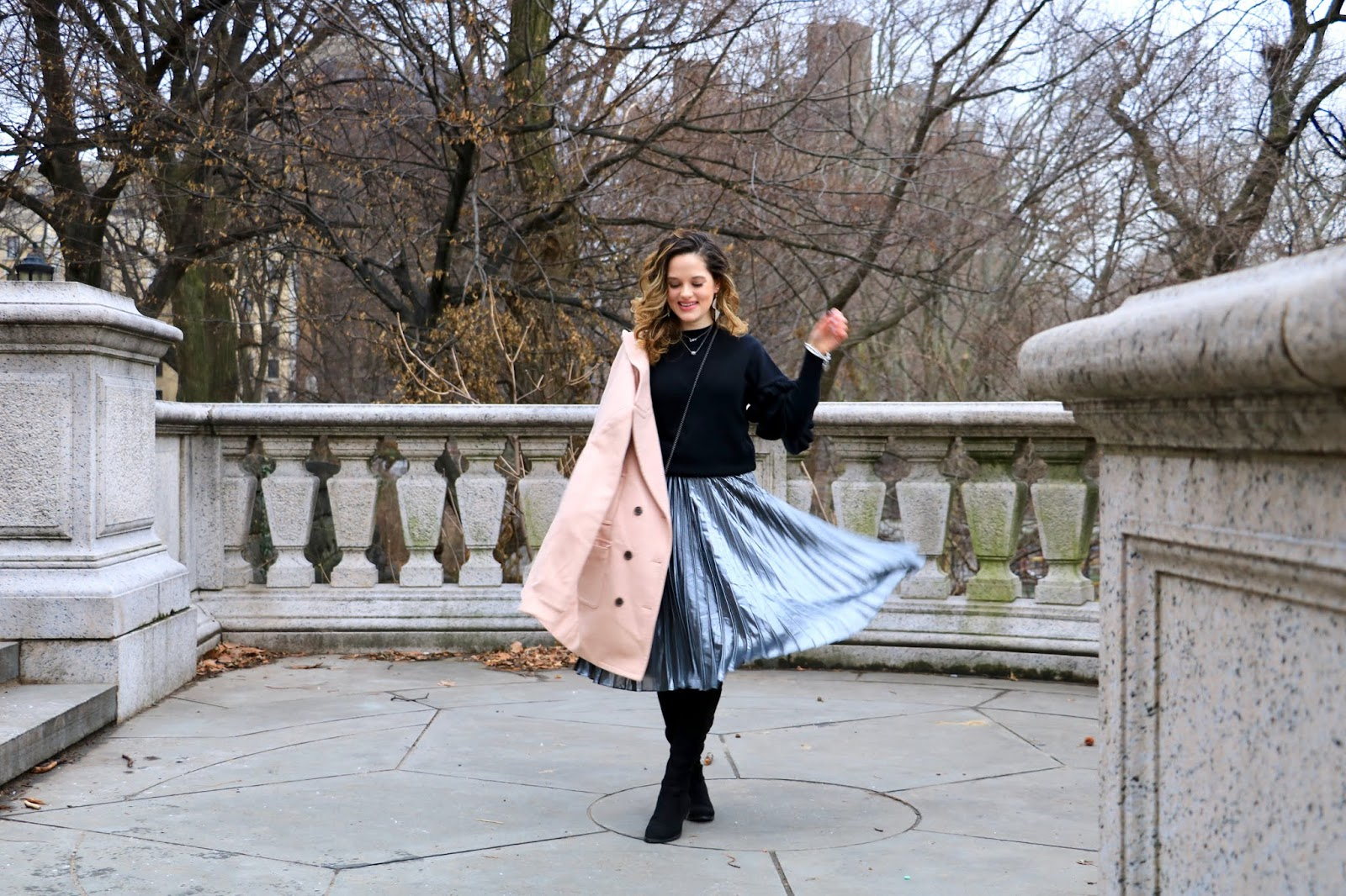 Nyc fashion blogger Kathleen Harper's 2019 Valentine's Day outfit