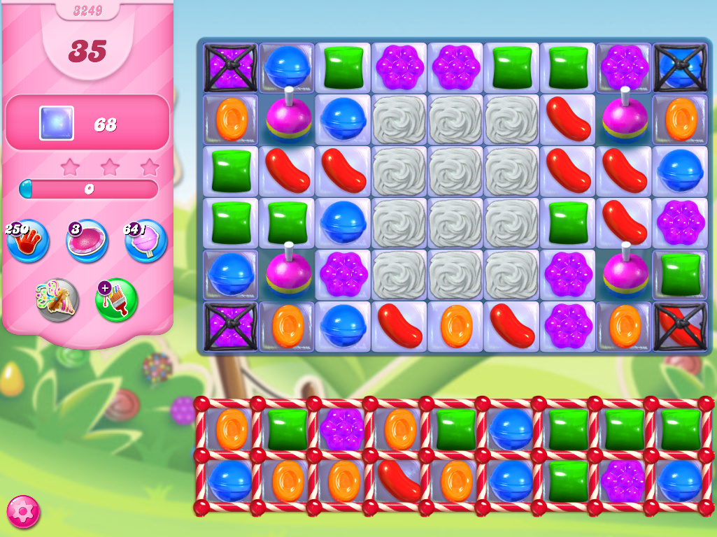 Candy Crush Saga level 3249