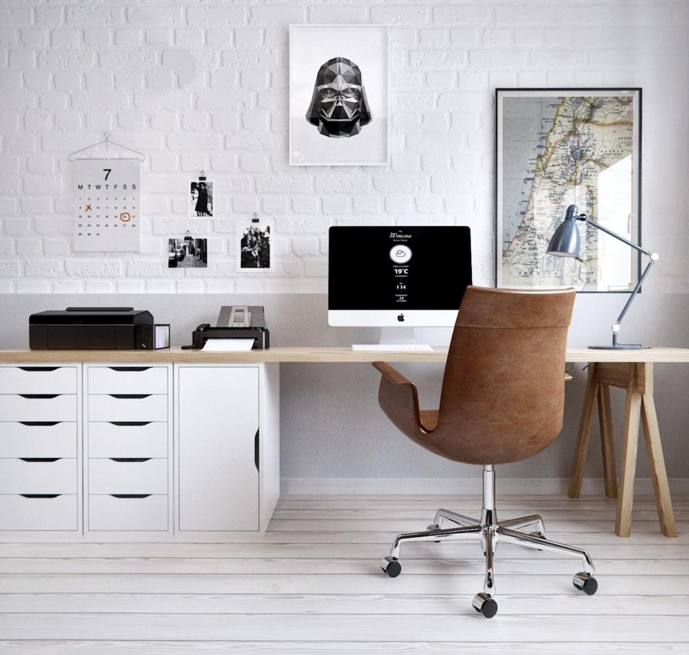 Raum für Kreativität - Home Office
