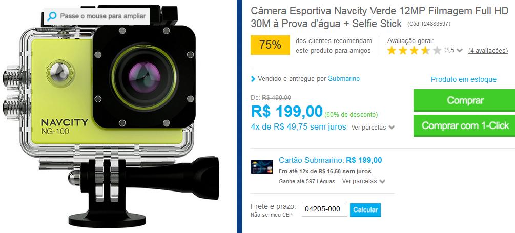 http://www.submarino.com.br/produto/124883597/camera-esportiva-navcity-verde-12mp-filmagem-full-hd-30m-a-prova-d-agua-selfie-stick?opn=AFLNOVOSUB&franq=AFL-03-117316&AFL-03-117316