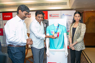 Hyderabad Runners Society announce the launch of the 7th Edition of Airtel Hyderabad Marathon