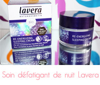 Re-Energizing Sleeping Cream de Lavera
