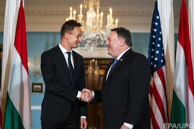 """США звернулось до Угорщини через """"мовне протистояння"""" з Україною"""