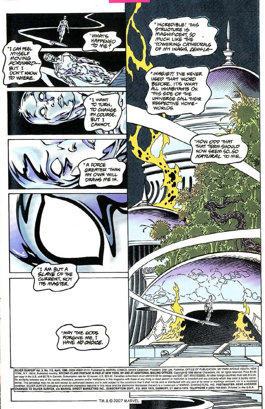 Read online Silver Surfer (1987) comic -  Issue #115 - 3