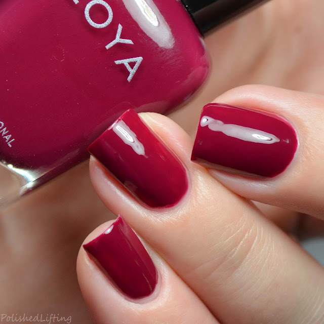 berry creme nail polish