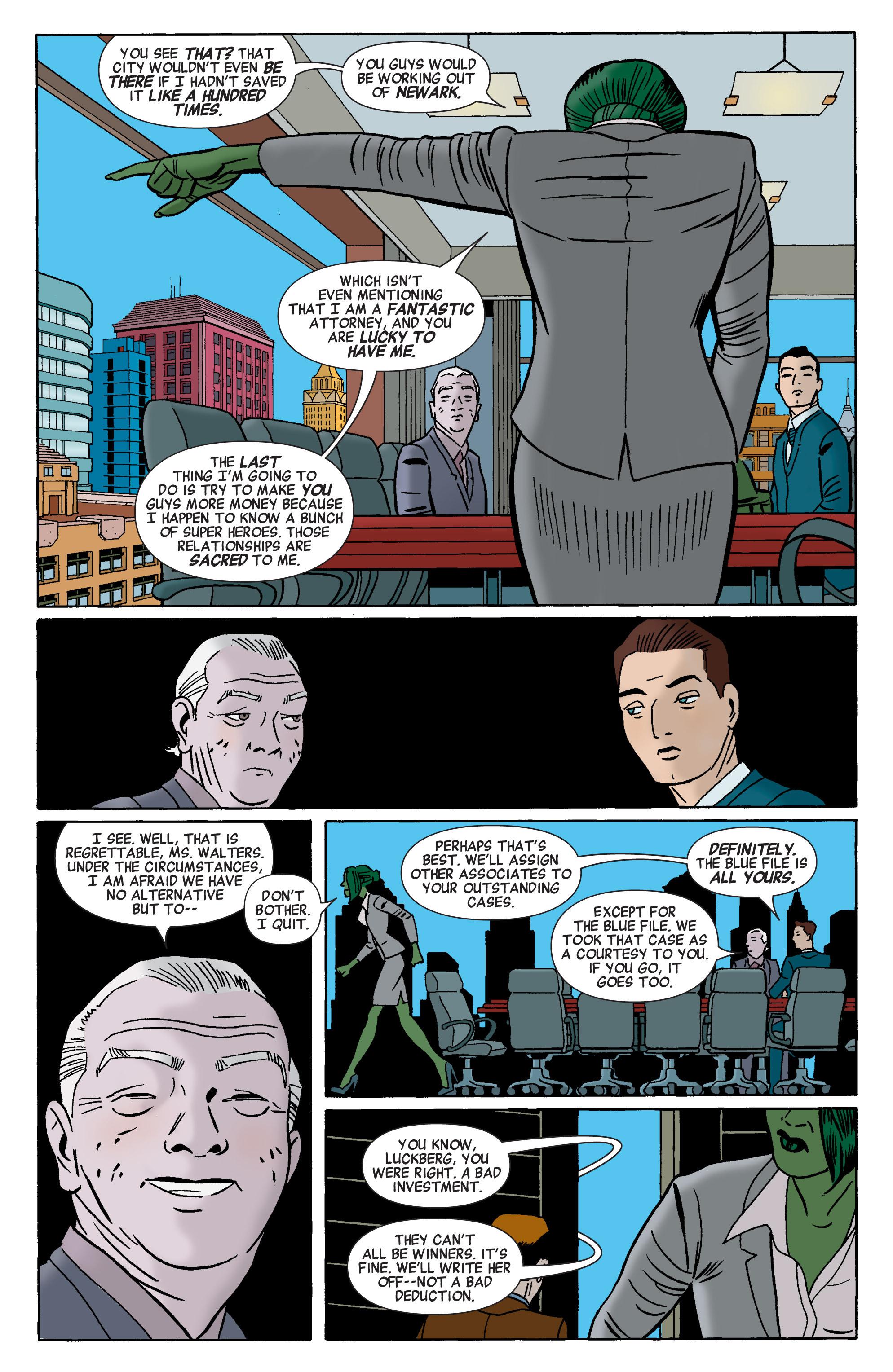 Read online She-Hulk (2014) comic -  Issue #1 - 7