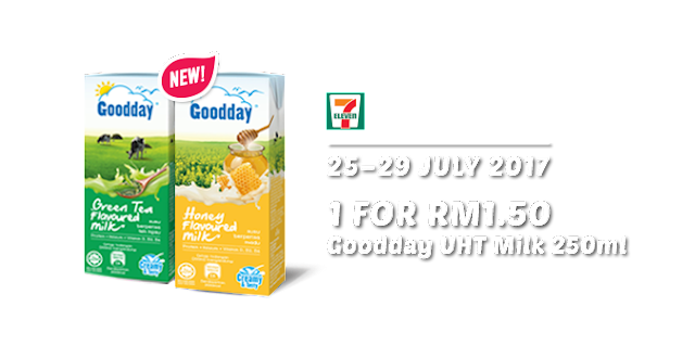 7 Eleven Goodday UHT Milk 250ml RM1.50