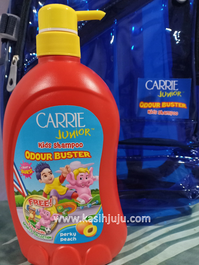 Wangikan Kulit Kepala Anak Anda Dengan Carrie Junior Kids Shampoo Odour Buster