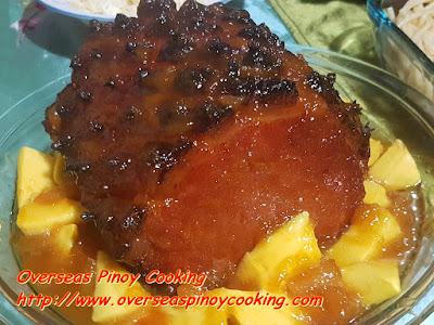 Mango Pineapple Glaze Ham