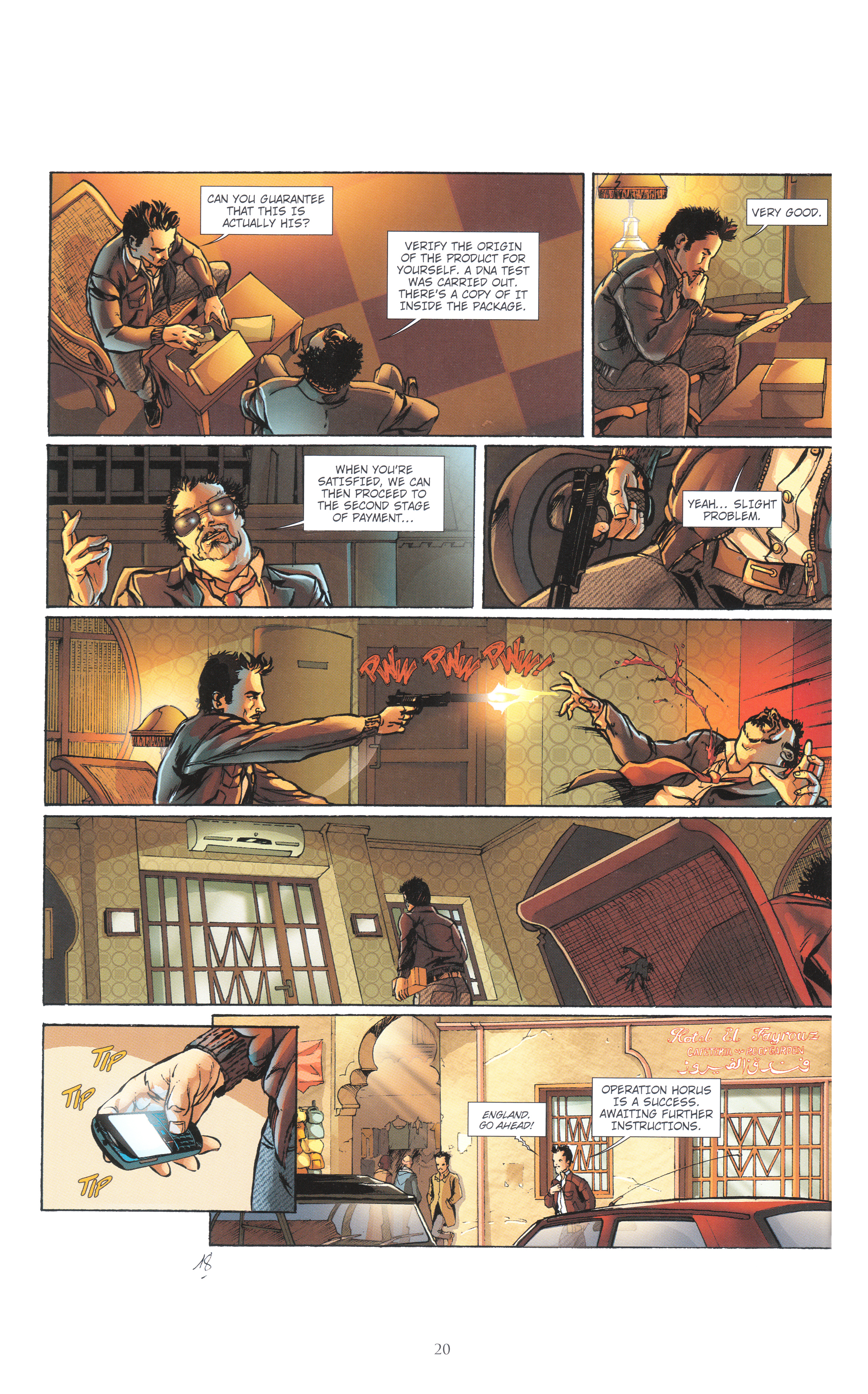 Read online Assassin's Creed (2012) comic -  Issue #4 - 20