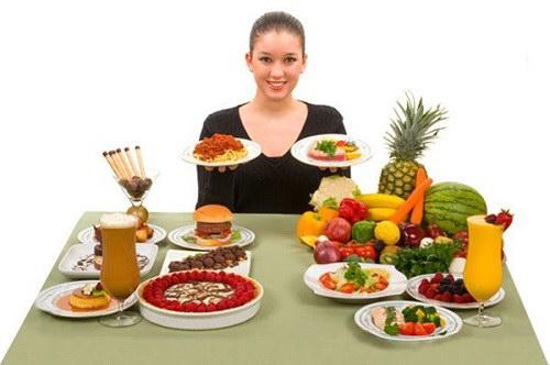 Những thực phẩm khuyên dùng ở phụ nữ 40