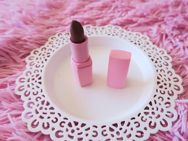 Review - Batom Matt Castanho Cotton Candy Primark