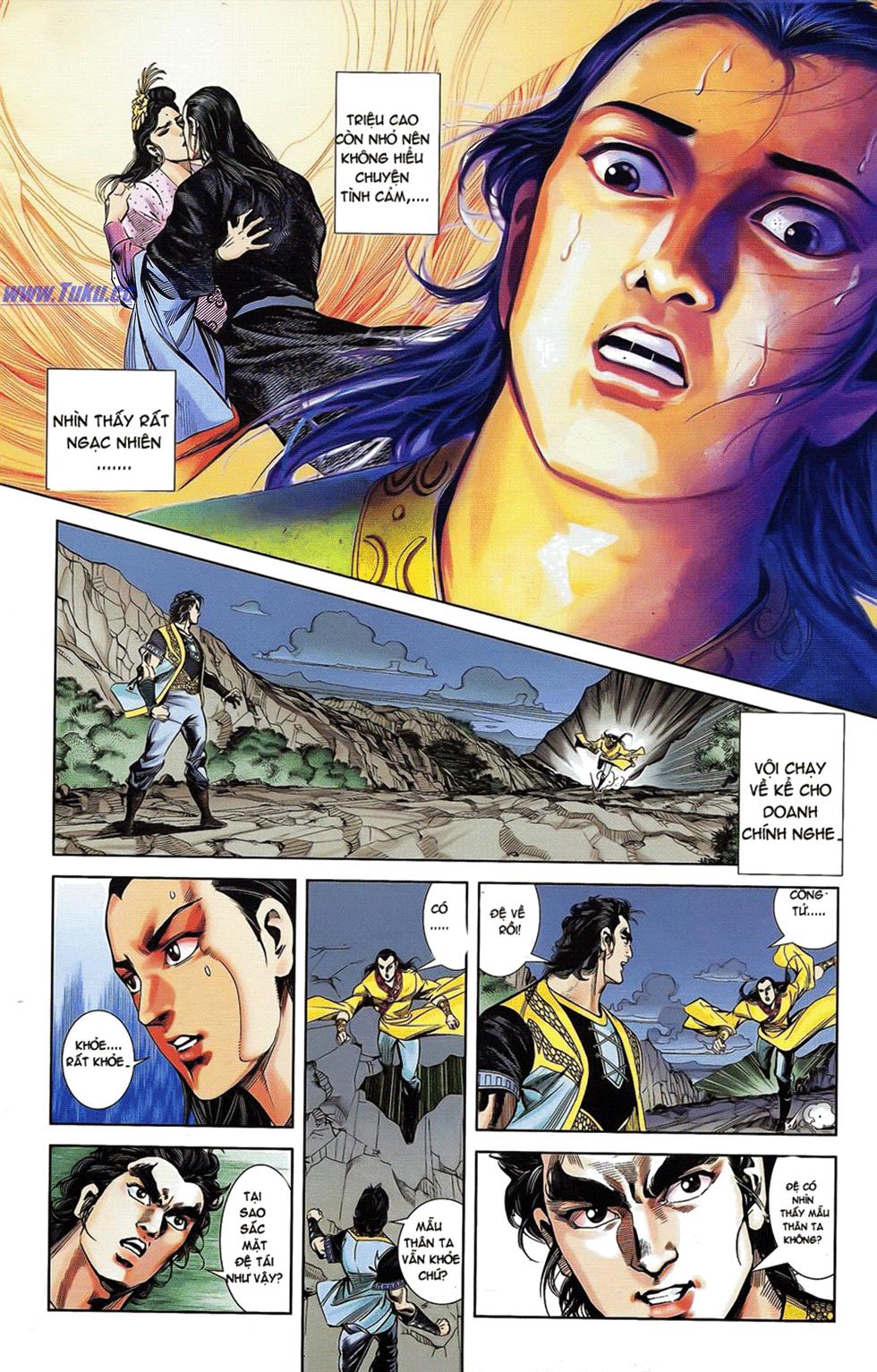 Tần Vương Doanh Chính chapter 18 trang 14