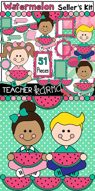 Summer Clipart TeacherKarma.com