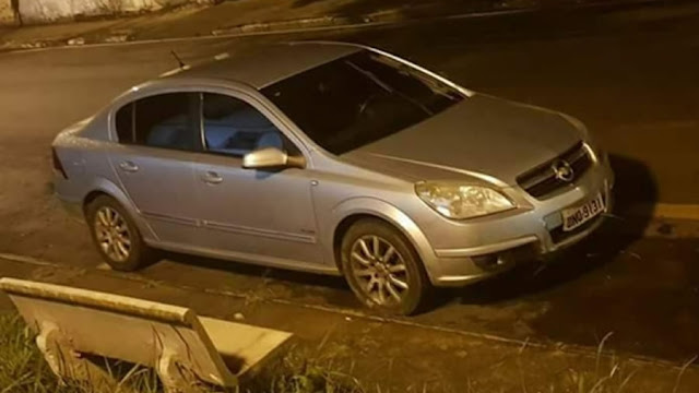 Após perseguição Força Tática recupera veículo roubado em Mogi-Guaçu(SP)