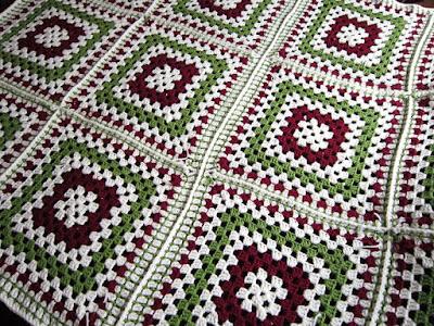 crochet, seams, granny squares, fail
