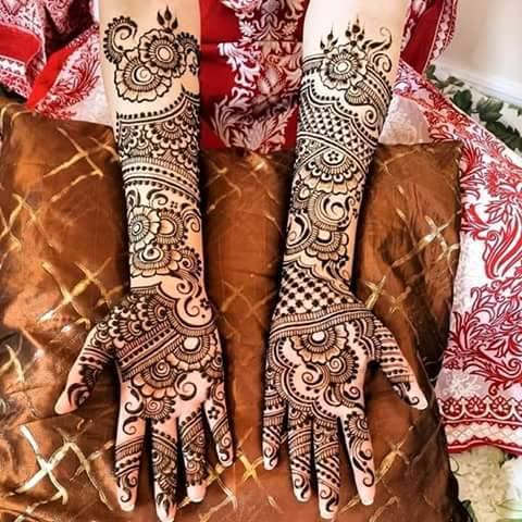 Bridal Mehandi Design 4