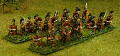 10mm Caesarian Romans from Adler Miniature