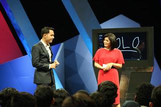Merry Riana, Safir Senduk, dan Edvan M Kautsar dalam Acara I'm Possible Metro TV : YOU ONLY LIVE ONCE