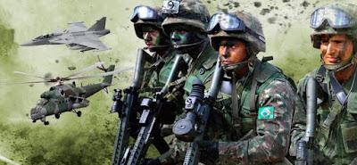 Brasil registra maior aumento de gastos militares desde 2010