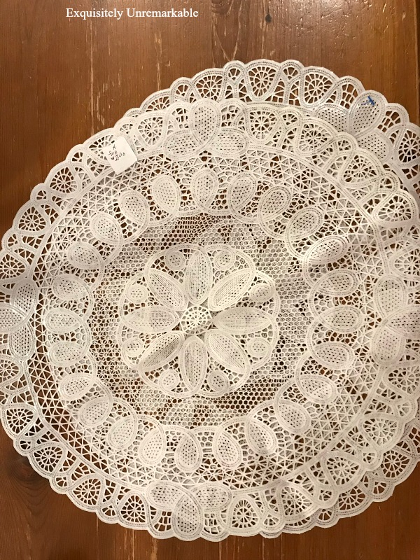 Large Round Doilies