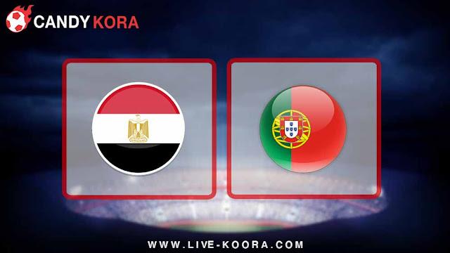 موعد مباراة مصر والبرتغال اليوم 23-3-2018 مباراة ودية