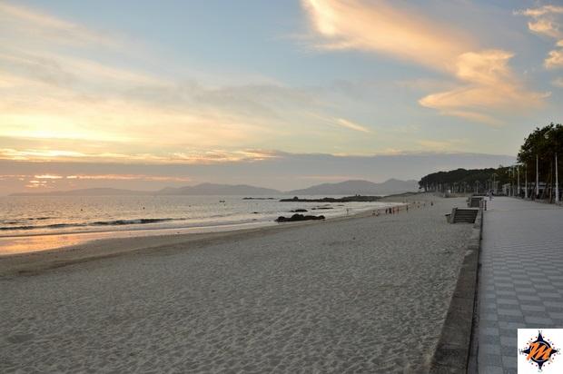 Vigo, Playa Samil