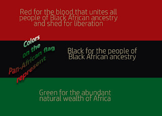 Marcus Garvey in response to the 1900 coon song created the Pan-African flag in 1920.