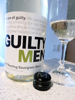 Malivoire Guilty Men Riesling Sauvignon Blanc 2017 (87 pts)