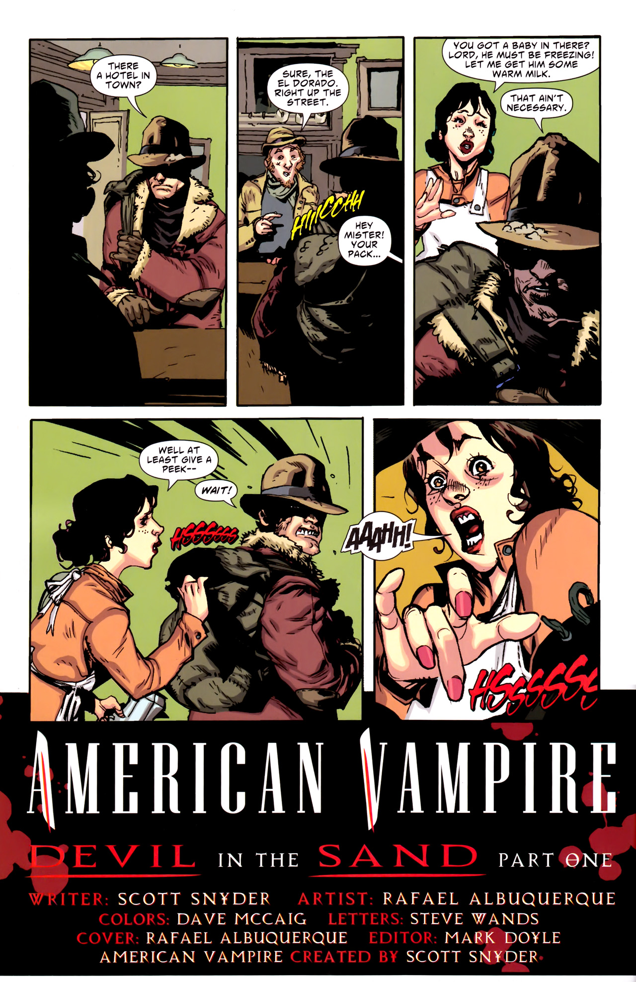 Read online American Vampire comic -  Issue #6 - 4