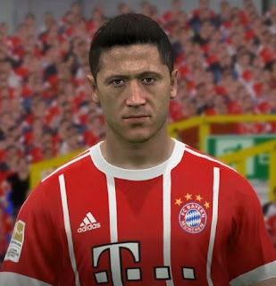 PES 2017 Faces Robert Lewandowski by FaceEditor Jefferson_SF