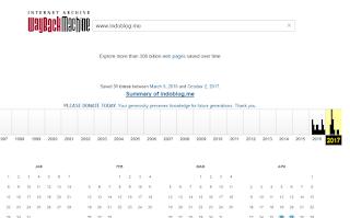 Cara Menggunakan Internet Archive Untuk Melihat Situs Orang Lain