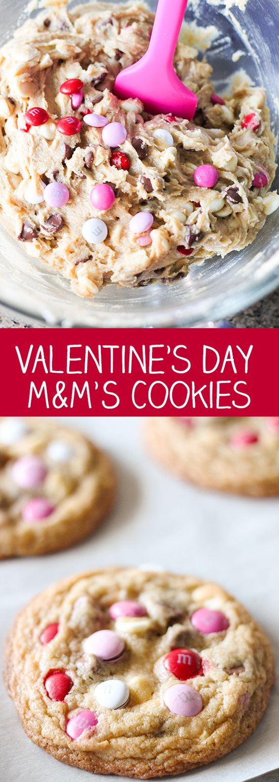 Valentine's Day M&M'S Cookies