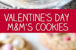 Valentine's Day M&M'S Cookies