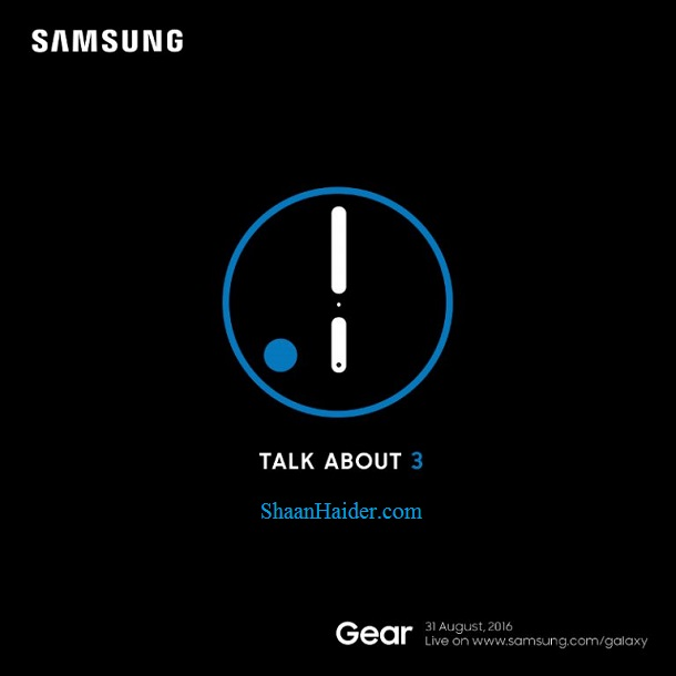 Samsung Gear S3 Launch Event