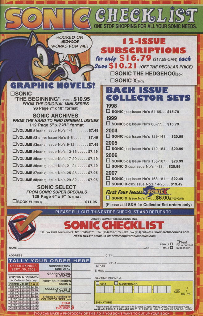 Read online Sonic The Hedgehog comic -  Issue #191 - 20