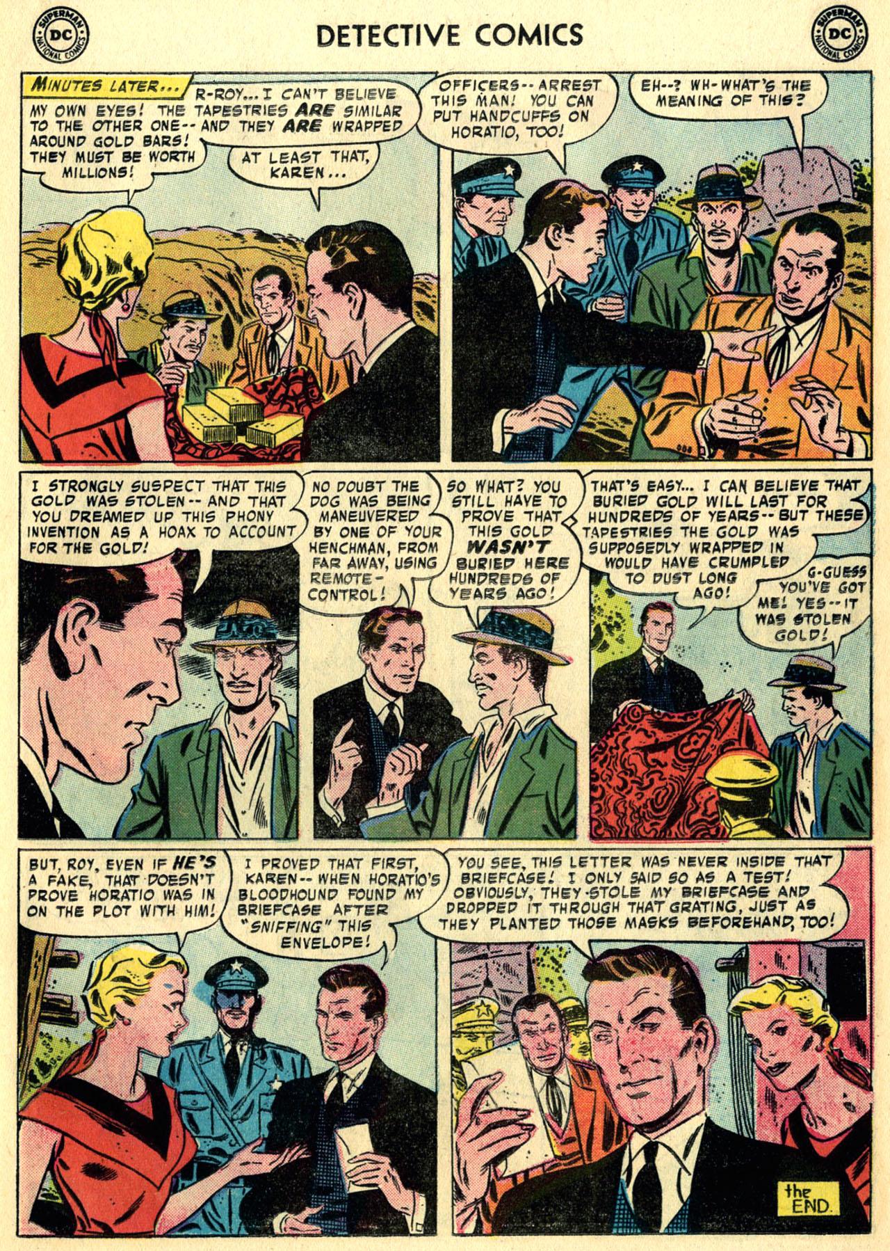 Read online Detective Comics (1937) comic -  Issue #247 - 23
