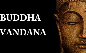 buddha vandana and its meaning