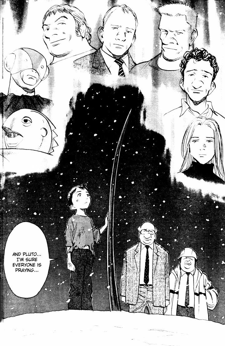 Page 21, Act 65: World's Strongest Robot from Naoki Urasawa's Pluto Volume 8