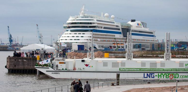 LNG to be Favoured Cruise Industry Fuel